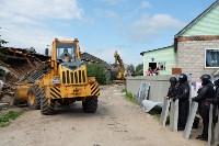 В Плеханово начали сносить дома в цыганском таборе, Фото: 86