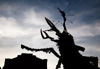 В Туле открыли скульптуру «блохе-киборгу», Фото: 74