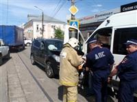 ДТП с участием маршрутки на ул. Оборонной, Фото: 4