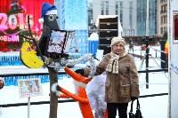 Арт-объекты на площади Ленина, 5.01.2015, Фото: 11