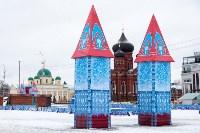 Праздничное оформление площади Ленина. Декабрь 2014., Фото: 13