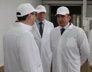 Алексей Дюмин посетил Узловский молочный комбинат, Фото: 10