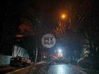 Крупный ночной пожар в Туле, Фото: 18