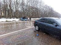 На дороге «Тула-Новомосковск» Ford протаранил Chevrolet, Фото: 14