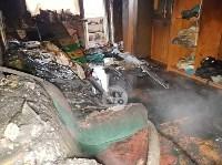 В пятиэтажке на ул. Маршала Жукова в Туле сгорела квартира, Фото: 10