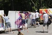 Молодые туляки попытали свои силы на конкурсе граффити, Фото: 11