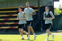 Футболисты «Арсенала» вышли из отпуска и провели первую тренировку, Фото: 15