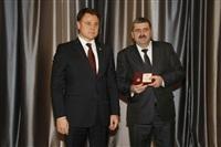 Награждение серебряной медалью  «За особый вклад в развитие Тульской области» Сергея Комиссарова, Фото: 78
