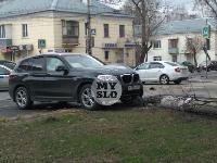 В Туле внедорожник BMW повалил столб ЛЭП, Фото: 7