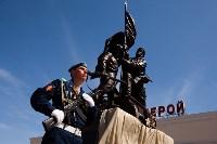 Открытие монумента и бронепоезда на Московском вокзале. 8 мая 2015 года, Фото: 1