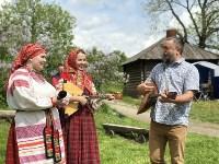 В Ясной Поляне прошел фестиваль молодежных фольклорных ансамблей «Молодо-зелено», Фото: 15
