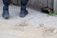 Группа быстрого реагирования УФССП помогла повторно за долги отключить тулячке газ, Фото: 8