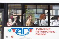 Полицейский рейд в тульских маршрутках: на пассажиров без масок составляют протоколы, Фото: 10
