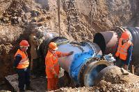 Как ведется монтаж водовода, питающего водой Пролетарский округ Тулы. Фото, Фото: 15