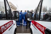 Алексей Дюмин передал региональному Центру медицины катастроф 39 новых автомобилей, Фото: 38