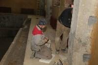 Реконструкция бассейна школы №21. 9.12.2014, Фото: 14