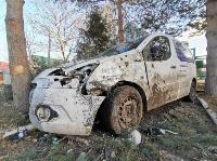 В Туле Mazda-3 сбила рябину и влетела в припаркованный Peugeot , Фото: 2