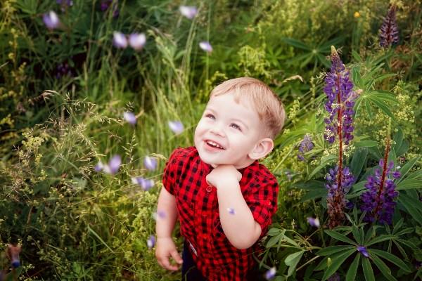 Славный, сладкий ангелочек,  Долгожданный наш сыночек!