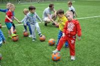 В тульских парках заработала летняя школа футбола для детей, Фото: 14