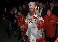 Пасхальная служба в Успенском соборе. 20.04.2014, Фото: 28