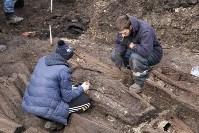 На Крестовоздвиженской площади Тулы обнаружено кладбище 18 века, Фото: 19