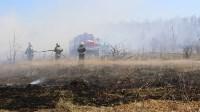Лесной пожар: учения МЧС, Фото: 18