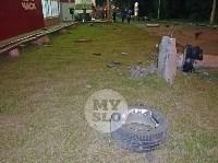 Крупное ДТП на ул. Металлургов в Туле: Nissan снес столб, пассажирку вышвырнуло из машины, Фото: 21