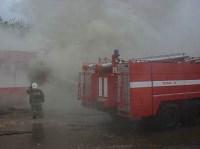 В Ясногорске сгорел продуктовый магазин. 16 мая 2015, Фото: 11