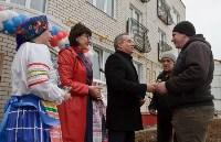 В Дубне жители дома ансамбля промышленной усадьбы Мосоловых получили ключи от новых квартир, Фото: 2