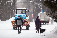Последствия снежного циклона в Туле, Фото: 49