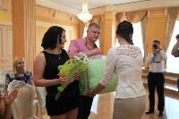 День семьи, любви и верности во Дворце бракосочетания. 8 июля 2015, Фото: 27