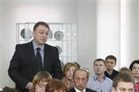 Пресс-конференция, посвященная реконструкции Тульского кремля. 11 марта 2014, Фото: 14