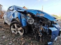 В Туле Mazda-3 сбила рябину и влетела в припаркованный Peugeot , Фото: 13