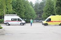 Учения МЧС: В Тульской областной больнице из-за пожара эвакуировали больных и персонал, Фото: 16