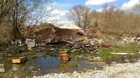 В Туле на берегу Тулицы обнаружен незаконный мусорный полигон, Фото: 5
