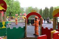 Тульские спасатели продезинфицировали Центральный парк, Фото: 2