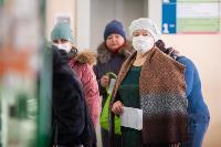 В Киреевске поликлинике помогают волонтеры, Фото: 23
