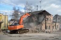 Снос аварийного дома на улице Октябрьской, Фото: 19