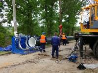 В Туле меняют аварийный участок трубы, из-за которого отключали воду в Пролетарском округе, Фото: 3