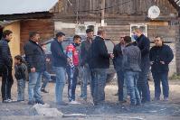 В тульском селе сносят незаконные цыганские постройки, Фото: 40