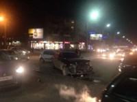 Аварии на перекрестке Красноармейского проспекта и ул. Фрунзе вечером 25 ноября, Фото: 1