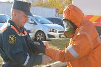 25 пожарных расчетов ежедневно дезинфицируют тульский транспорт и остановки , Фото: 2