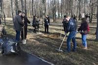 Субботник в Комсомольском парке с Владимиром Груздевым, 11.04.2014, Фото: 37