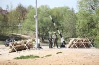 Реконструкция боевых действий. Центральный парк. 9 мая 2015 года, Фото: 5