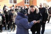 Владимир Груздев и руководители Фонда содействия реформированию ЖКХ в Кимовске , Фото: 8