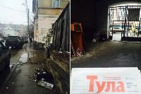 Во дворе дома 17 по улице Советская, по-прежнему, складируют мусор в арке. Теперь ещё и старую мебель выбрасывают. , Фото: 1