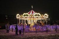 На Казанской набережной установили музыкальную карусель, Фото: 1
