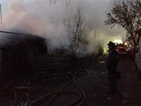В Пролетарском районе сгорел дом, Фото: 4