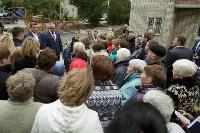 Алексей Дюмин посетил дом в Ясногорске, восстановленный после взрыва, Фото: 30
