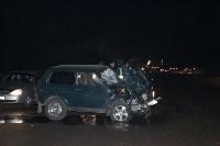 """Авария на трассе """"Тула-Новомосковск"""" вечером 5 декабря, Фото: 7"""